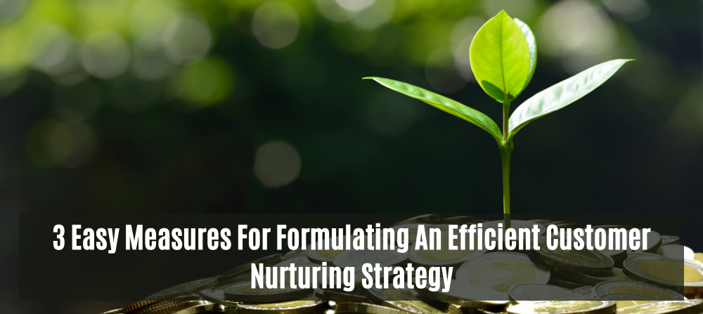 3 Easy Measures For Formulating An Efficient Customer Nurturing Strategy